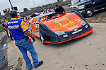Sep 9, 2011; 11:21:28 AM; Rossburg, OH., USA; The 41st annual running of the World 100 Dirt Late Models racing for the Globe trophy at the Eldora Speedway.  Mandatory Credit: (thesportswire.net)