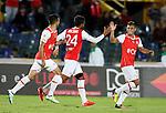 Independiente Santa Fe venció 1-0 a Atlético Bucaramanga, en Bogotá. Fecha 3 Liga Águila II-2016.