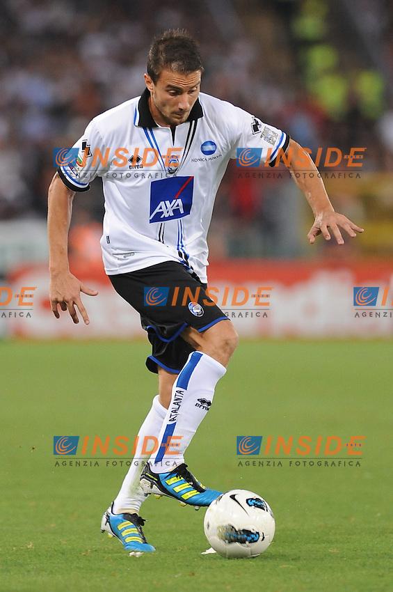 "matteo brighi (atalanta)..Roma 01-10-2011 ""Stadio Olimpico""..Calcio Football Serie A 2011-2012..Roma Atalanta..Foto Insidefoto Massimo Oliva"