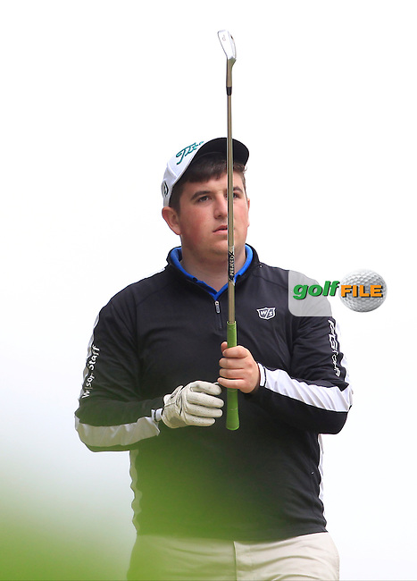 Conor Roche (Mallow) on the 7th tee during Round 2 of the Irish Boys Amateur Open Championship at Tuam Golf Club on Wednesday 24th June 2015.<br /> Picture:  Thos Caffrey / www.golffile.ie