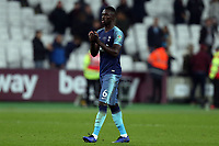 Davinson Sanchez of Tottenham Hotspur applauds the fans after West Ham United vs Tottenham Hotspur, Caraboa Cup Football at The London Stadium on 31st October 2018