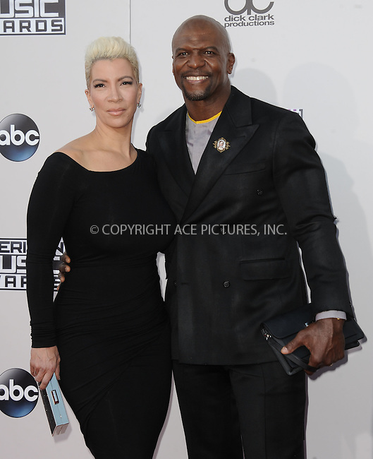 WWW.ACEPIXS.COM<br /> <br /> November 22 2015, LA<br /> <br /> Terry Crews arriving at the 2015 American Music Awards at the Microsoft Theater on November 22, 2015 in Los Angeles, California.<br /> <br /> By Line: Peter West/ACE Pictures<br /> <br /> <br /> ACE Pictures, Inc.<br /> tel: 646 769 0430<br /> Email: info@acepixs.com<br /> www.acepixs.com