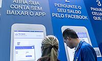 SAO PAULO, 06.06.2017 - CIAB-FEBRABAN - Vista da CIAB-Febraban 2017 na manhã desta terça-feira (6) no Expo Transamérica, zona sul de São Paulo. <br /> (Foto: Fabricio Bomjardim / Brazil Photo Press)