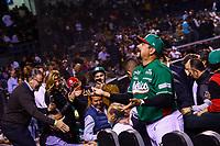 Aspectos, durante la ceremonia de inauguración de la Serie del Caribe 2018 celebrada en estadioCharros de Jalisco en Guadalajara, México,  viernes 2 feb 2018. (Foto AP / Luis Gutierrez)