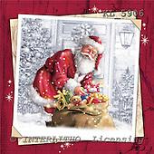 Interlitho, Simonetta, CHRISTMAS SANTA, SNOWMAN, paintings, santa, toys, KL5906,#x# Weihnachtsmänner, Papá Noel, Weihnachten, Navidad, illustrations, pinturas klassisch, clásico