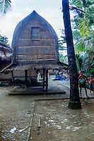 Nusa Tenggara, Lombok, Sade. Lumbung. A storage for rice and other food, called lumbung. Sade village