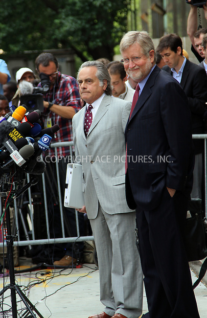 WWW.ACEPIXS.COM . . . . .  ....June 6 2011, New York City....Defence attorneys Benjamin Braffman and William Taylor outside the Manhattan Criminal Court following the Plea hearing for Dominique Strauss-Kahn, outside the Manhattan Criminal Court Building on June 6, 2011 in New York City....Please byline: CURTIS MEANS - ACE PICTURES.... *** ***..Ace Pictures, Inc:  ..Philip Vaughan (212) 243-8787 or (646) 679 0430..e-mail: info@acepixs.com..web: http://www.acepixs.com