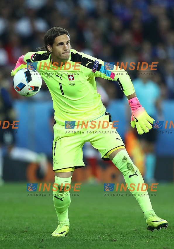 Yann Sommer Switzerland<br /> Lille 19-06-2016 Stade Pierre Mauroy Footballl Euro2016 Switzerland - France  / Svizzera - Francia Group Stage Group A. Foto Matteo Ciambelli / Insidefoto