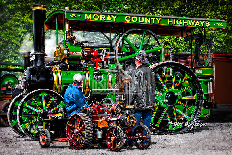 Deeside steam vintage rally. Steam fair at Crathes. dsider.co.uk online magazine, photo courses