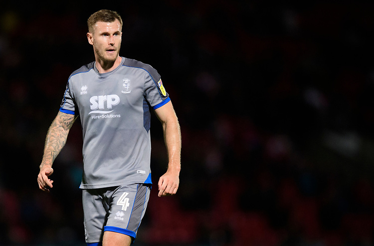 Lincoln City's Michael O'Connor<br /> <br /> Photographer Chris Vaughan/CameraSport<br /> <br /> EFL Leasing.com Trophy - Northern Section - Group H - Doncaster Rovers v Lincoln City - Tuesday 3rd September 2019 - Keepmoat Stadium - Doncaster<br />  <br /> World Copyright © 2018 CameraSport. All rights reserved. 43 Linden Ave. Countesthorpe. Leicester. England. LE8 5PG - Tel: +44 (0) 116 277 4147 - admin@camerasport.com - www.camerasport.com