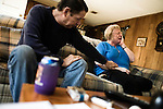 November 21, 2007. Hillsborough, NC.. As social security disability applications have reached an estimated 750,000 outstanding nation-wide many individuals have been waiting years to hear about their claims, as there conditions worsen and some have died before their claim was settled.. Richard and Vicki Wild's son Mark committed suicide after a 2 year wait for approval of his disability claim. The Wild's received a letter of approval only hours before the body of their son was found in the woods near their house. Richard can no longer work due to severe depression over the death of his son and has filed his own disability claim.