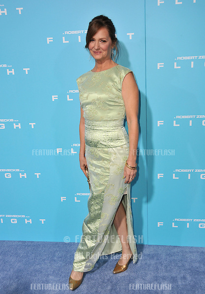 "Melissa Leo at the Los Angeles premiere of her new movie ""Flight"" at the Cinerama Dome, Hollywood..October 23, 2012  Los Angeles, CA.Picture: Paul Smith / Featureflash"