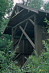 Felton Covered Bridge, c.1892 - tallest wooded covered Bridge in country, Felton, Santa Cruz County, California