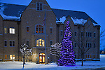MC 12.16.16 Hammes Mowbray Christmas Tree.JPG by Matt Cashore/University of Notre Dame