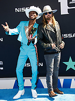 LOS ANGELES, CALIFORNIA - JUNE 23: Lil Nas X and Billy Ray Cyrus attend the 2019 BET Awards on June 23, 2019 in Los Angeles, California. Photo: imageSPACE/MediaPunch