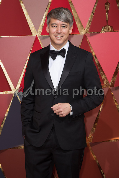 26 February 2017 - Hollywood, California - Tom Cross. 89th Annual Academy Awards presented by the Academy of Motion Picture Arts and Sciences held at Hollywood & Highland Center. Photo Credit: AMPAS/AdMedia