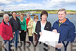 PONTOON: Locals in Portmagee who are planning the development of a new pontoon beside the pier in the village, l-r: Gerard Kennedy, Patricia Kennedy, Mary Dennehy, Anne O'Keeffe, Mairead Lynch, Marian Martin, Danny Lynch.