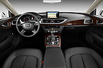 Front seat view of 2012 Audi A7 Sportback 4 Door Hatchback front seat car photos