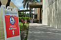 MIRAMAR, FL - MARCH 17: A sign directs voters to a polling location during the Florida presidential primary on March 17, 2020 in Miramar, Florida. People are heading to the polls to vote for their Republican and Democratic choice in their parties' respective primaries during the COVID-19 outbreak where United States death toll from the virus passed 100. black voters carried Joe Biden to his projected Florida win during Super Tuesday on March 17, 2020 in Miramar, Florida. ( Photo by Johnny Louis / jlnphotography.com )