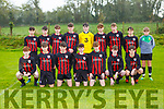 The Mastergeeha team that played Ballyhar in the u16 league on Saturday