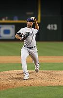 Jose Torres - 2017 San Diego Padres (Bill Mitchell)