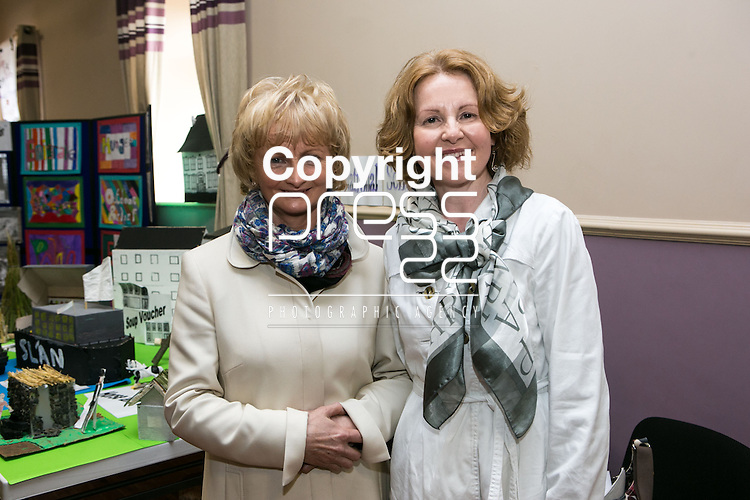 Pictured at the official opening of the Knockerra Community Centre were:<br /> Ailish Lorigan & Pamela Prenderville.<br /> Pictured Credit Brian Gavin Press 22