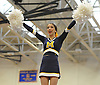 Katie Ciervo and the Massapequa varsity cheerleaders perform during an invitational competition held at Smithtown High School West on Saturday, Dec. 17, 2016.