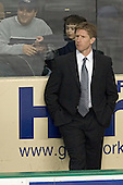 Dave Hakstol - The University of Minnesota Golden Gophers defeated the University of North Dakota Fighting Sioux 4-3 on Saturday, December 10, 2005 completing a weekend sweep of the Fighting Sioux at the Ralph Engelstad Arena in Grand Forks, North Dakota.