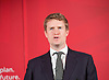 Labour Party Education manifesto launch at Microsoft, London, Great Britain <br /> 9th April 2015 <br /> <br />  General Election Campaign 2015 <br /> <br /> <br /> <br /> Tristram Hunt <br /> Shadow education minister <br /> <br /> <br /> <br /> <br /> Photograph by Elliott Franks <br /> Image licensed to Elliott Franks Photography Services