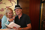 Guiding Light's Tina Sloan and Robert Newman check out Changing Shoes - Final Meet and Greet - Day 5 - Wednesday August 4, 2010 - So Long Springfield at Sea on the Carnival's Glory (Photos by Sue Coflin/Max Photos)