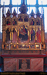 Polyptych with Madonna and Saints del Biondo 1380 Rinuccini Chapel Santa Croce Florence