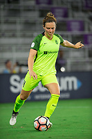 Orlando, FL - Thursday September 07, 2017: Rachel Corsie during a regular season National Women's Soccer League (NWSL) match between the Orlando Pride and the Seattle Reign FC at Orlando City Stadium.
