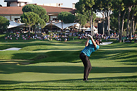 Tyrrell Hatton (ENG) in action during the third round of the Turkish Airlines Open, Montgomerie Maxx Royal Golf Club, Belek, Turkey. 09/11/2019<br /> Picture: Golffile | Phil INGLIS<br /> <br /> <br /> All photo usage must carry mandatory copyright credit (© Golffile | Phil INGLIS)