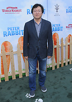 03 February 2018 - Los Angeles, California - Masi Oka. &quot;Peter Rabbit&quot; Los Angeles Premiere held at The Grove. <br /> CAP/ADM/BT<br /> &copy;BT/ADM/Capital Pictures