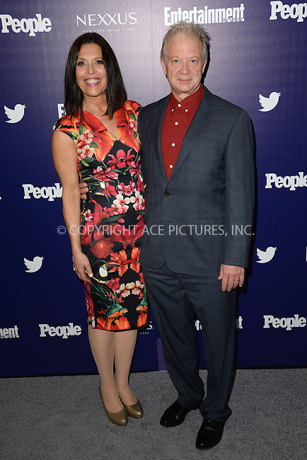 WWW.ACEPIXS.COM<br /> May 11, 2015 New York City<br /> <br /> Linda Lowy and Jeff Perry attending the Entertainment Weekly and People celebration of The New York Upfronts at The Highline Hotel onMay 11, 2015 in New York City.<br /> <br /> Please byline: Kristin Callahan/AcePictures<br /> <br /> Tel: (646) 769 0430<br /> e-mail: info@acepixs.com<br /> web: http://www.acepixs.com
