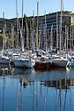 21/08/16 - AIX LES BAINS - SAVOIE - FRANCE - Le Petit Port sur le Lac du Bourget - Photo Jerome CHABANNE