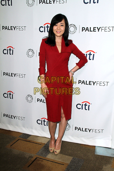 HOLLYWOOD, CA - March 16: Yunjin Kim at the &quot;Lost&quot; 10 Year Anniversary at the 31st PALEYFEST, Dolby Theater, Hollywood,  March 16, 2014. <br /> CAP/MPI/JO<br /> &copy;Janice Ogata/MediaPunch/Capital Pictures