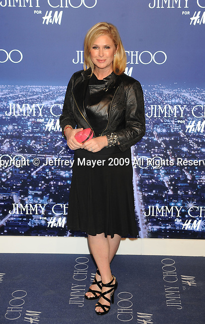 WEST HOLLYWOOD, CA. - November 02: Kathy Hilton  arrives at Jimmy Choo For H&M at a private residence on November 2, 2009 in West Hollywood, California.. .