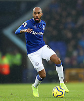 26th December 2019; Goodison Park, Liverpool, Merseyside, England; English Premier League Football, Everton versus Burnley; Fabian Delph of Everton controls the ball in midfield  - Strictly Editorial Use Only. No use with unauthorized audio, video, data, fixture lists, club/league logos or 'live' services. Online in-match use limited to 120 images, no video emulation. No use in betting, games or single club/league/player publications