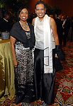 Phyllis Williams and Renee Logans at the Ensemble Theatre Gala at the Hilton Americas Hotel Friday Aug. 15,2008. (Dave Rossman/For the Chronicle)
