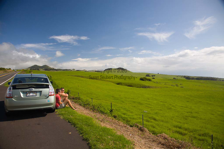 Views along Highway 250 between Waimea and Hawi