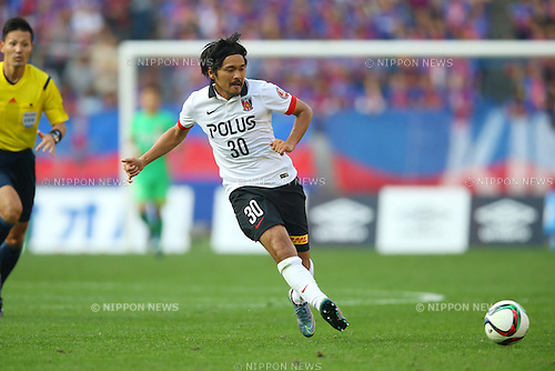 Shinzo Koroki (Reds), OCTOBER 24, 2015 - Football / Soccer : 2015 J1 League 2nd stage match between F.C.Tokyo 3-4 Urawa Red Diamonds at Ajinomoto Stadium in Tokyo, Japan. (Photo by AFLO)