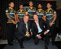 120801 ITM Cup Rugby - Wellington Jersey Launch