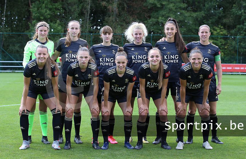 Top left to right; OHL's goalkeeper Faye Lammertijn, Sari Kees, Zenia Mertens, Tine Schrijvers, Amber Tysiak, Lenie Onzia front row; Hannah Eurlings, Jill Janssens, Marith Debondt, Janne Geers and Sara Yuceil pose for the team photo before a female soccer game between Standard Femina de Liege and Oud Heverlee Leuven on the second matchday of the 2020 - 2021 season of Belgian Scooore Women s SuperLeague , saturday 5 th of September 2020  in Angleur , Belgium . PHOTO SPORTPIX.BE | SPP | SEVIL OKTEM