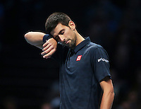 Novak Djokovic (SRB)(2) in action against Andy Murray (GBR)(1)during Day Eight of the Barclays ATP World Tour Finals 2015 played at The O2 Arena, London on November 20th  2016<br /> <br /> <br /> <br /> <br /> <br /> <br /> <br /> <br /> <br /> <br /> <br /> <br /> <br /> <br /> <br /> <br /> <br /> <br /> <br /> <br /> <br /> <br /> <br /> <br /> <br /> <br /> <br /> <br /> <br /> <br /> <br /> <br /> <br /> <br /> <br /> <br /> <br /> <br /> <br /> <br /> <br /> <br /> <br /> <br /> <br /> <br /> <br /> <br /> <br /> <br /> <br /> <br /> <br /> <br /> <br /> <br /> <br /> <br /> <br /> <br /> <br /> <br /> <br /> <br /> <br /> <br /> <br /> <br /> <br /> <br /> <br /> <br /> <br /> <br /> <br /> <br /> <br /> <br /> <br /> <br /> <br /> <br /> <br /> <br /> <br /> <br /> <br /> <br /> <br /> <br /> <br /> <br /> <br /> <br /> <br /> <br /> <br /> <br /> <br /> <br /> <br /> <br /> <br /> <br /> <br /> <br /> <br /> <br /> <br /> <br /> <br /> <br /> <br /> <br /> <br /> <br /> <br /> <br /> <br /> <br /> <br /> <br /> <br /> <br /> <br /> <br /> <br /> <br /> <br /> <br /> <br /> <br /> <br /> <br /> <br /> <br /> <br /> <br /> <br /> <br /> <br /> <br /> <br /> <br /> <br /> <br /> <br /> <br /> <br /> <br /> <br /> <br /> <br /> <br /> <br /> <br /> <br /> <br /> <br /> <br /> <br /> <br /> <br /> <br /> <br /> <br /> <br /> <br /> <br /> <br /> <br /> <br /> <br /> <br /> <br /> <br /> <br /> <br /> <br /> <br /> <br /> <br /> <br /> <br /> <br /> <br /> <br /> <br /> <br /> <br /> <br /> <br /> <br /> <br /> <br /> <br /> <br /> <br /> <br /> <br /> <br /> <br /> <br /> <br /> <br /> <br /> <br /> <br /> <br /> <br /> <br /> <br /> <br /> <br /> <br /> <br /> <br /> <br /> <br /> <br /> <br /> <br /> <br /> <br /> <br /> <br /> <br /> <br /> <br /> <br /> <br /> <br /> <br /> <br /> <br /> <br /> <br /> <br /> <br /> <br /> <br /> <br /> <br /> Andy Murray  (GBR)(1) and Coach van Lendl  warming prior to the Final during Day Eight of the Barclays ATP World Tour