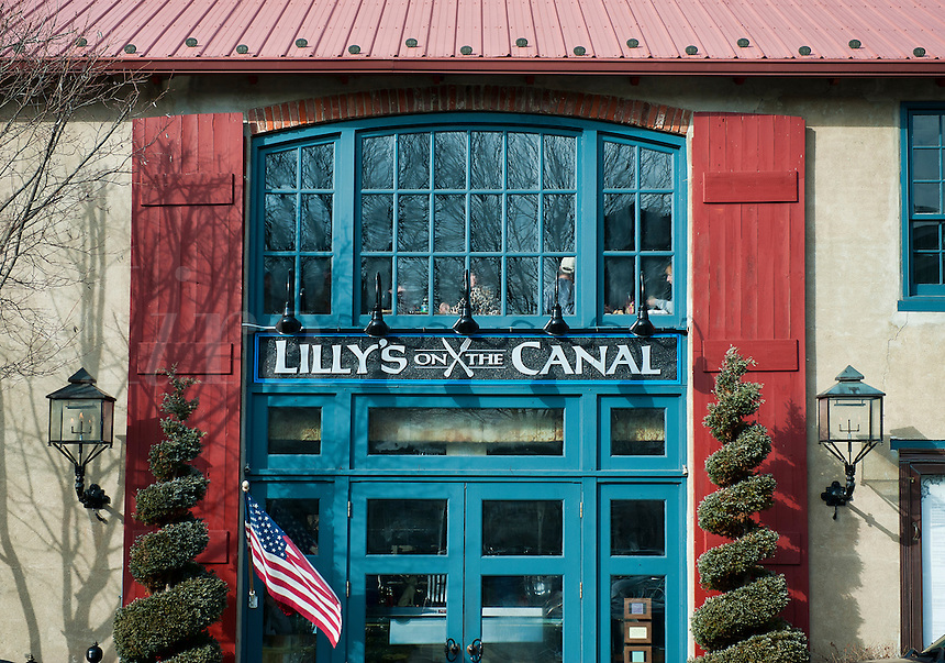 Lilly's on the Canal, Lambertville, New Jersey, USA