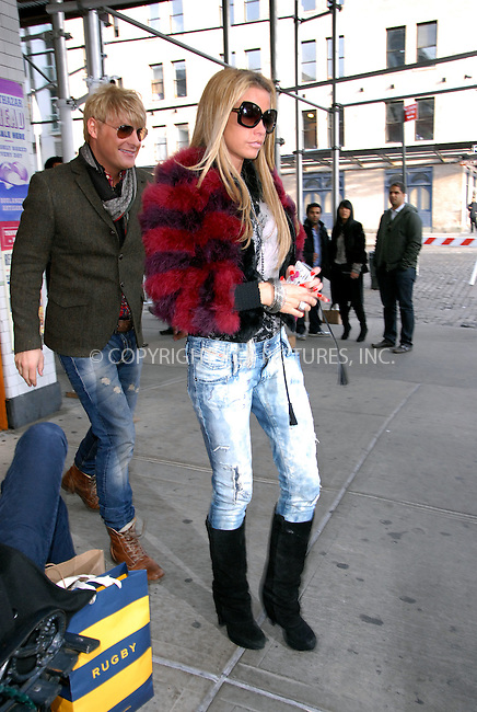 WWW.ACEPIXS.COM . . . . .  ....November 19 2011, New York City....Katie Price and her friend make-up artist Gary Cockerill leave Meatpacking District restaurant Pastis on November 19 2011 in New York City....Please byline: CURTIS MEANS - ACE PICTURES.... *** ***..Ace Pictures, Inc:  ..Philip Vaughan (212) 243-8787 or (646) 679 0430..e-mail: info@acepixs.com..web: http://www.acepixs.com