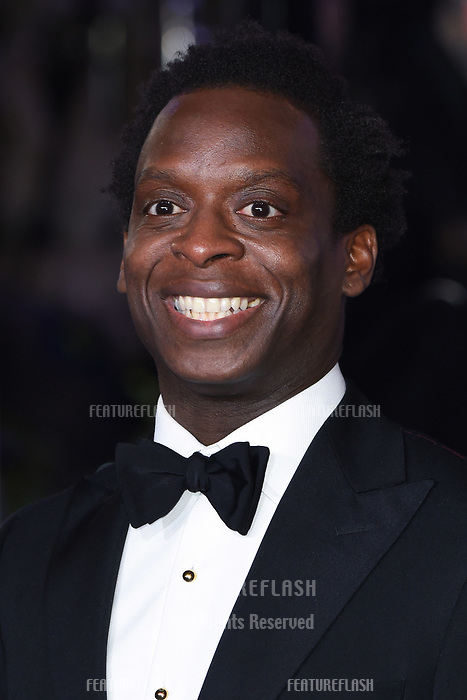 "LONDON, UK. December 12, 2018: Kobna Holdbrook-Smith at the UK premiere of ""Mary Poppins Returns"" at the Royal Albert Hall, London.<br /> Picture: Steve Vas/Featureflash"