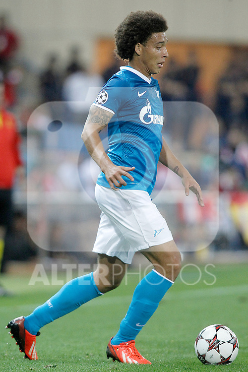 Football Club Zenit's Axel Witsel during Champions League 2013/2014 match.September 18,2013. (ALTERPHOTOS/Acero)