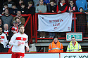 Mitchell Cole banner. Stevenage v Crawley Town - npower League 1 -  Lamex Stadium, Stevenage - 15th December, 2012. © Kevin Coleman 2012..